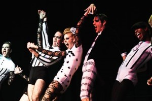 Members of the Ballet Memphis troupe go hog wild.